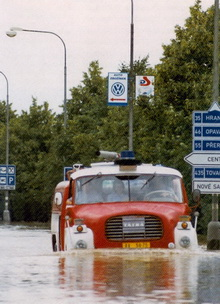 Наводнение в Моравии