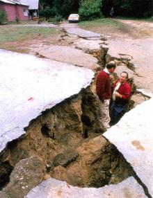Землетрясение в Лома-Приета