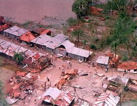 Циклон и наводнение в Бангладеш