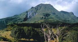 Извержение вулкана Мон-Пеле (Монтань-Пеле)