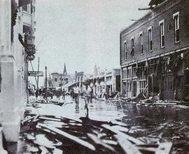 Ураган на озере Окичоби