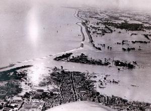 Наводнение на реке Янцзы