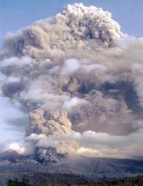 Извержение Галлунгунг